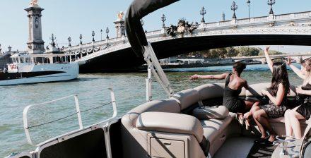 Apéro flottant sur la Seine