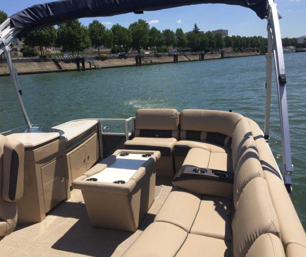 Confort à bord des bateaux Greenriver Cruise